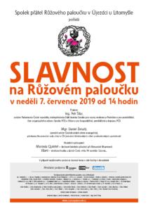 2019 Slavnost na RP plakat